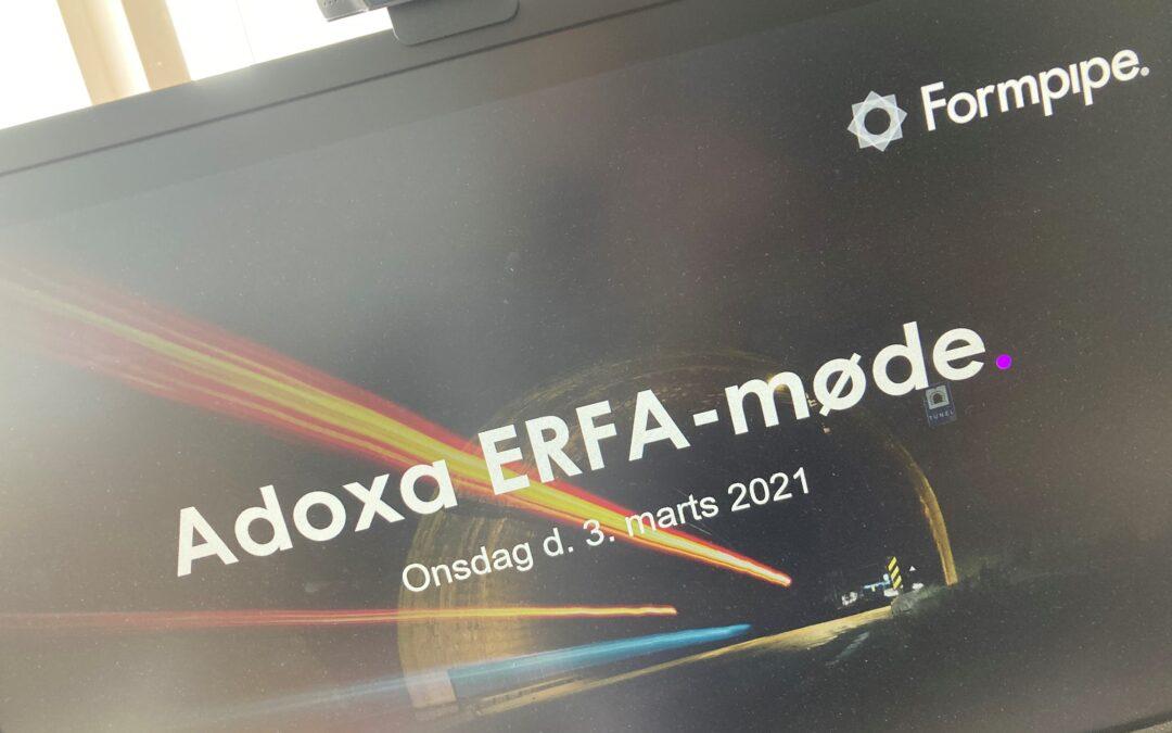 Adoxa ERFA-møde – tak for sidst!